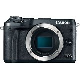 CANON EOS M6 Body Only - Black - Camera Mirrorless