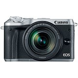 CANON EOS M6 Kit2- Silver - Camera Mirrorless