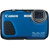 CANON PowerShot D30 - Blue - Camera Underwater