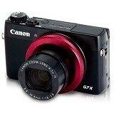 CANON PowerShot G7 X (Red Ring Edition) - Camera Pocket / Point and Shot