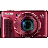 CANON PowerShot SX720 HS - Red (Merchant) - Camera Pocket / Point and Shot