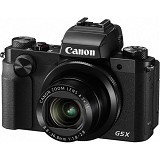 CANON Digital Camera Powershot G5X - Black - Camera Pocket / Point and Shot