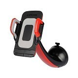 CAPDASE Flexi Sport Car Mount [HR00-SF91] - Red Black - Gadget Mounting / Bracket