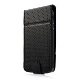 CAPDASE Folder Case iPhone 5-5s [FCIH5-UP11] - Upper Polka Black - Casing Handphone / Case