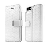 CAPDASE Folder Sider for iPhone 5/5s - Polka White - Casing Handphone / Case