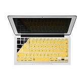 CAPDASE Keysaver for Macbook Air 11 Inch [KSAPMBA1M-P4E2] - Yellow (Merchant) - Keyboard Cover Protector