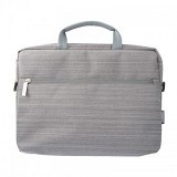CAPDASE MKeper Gento Pro15G Shoulder Bag Tas Notebook/Macbook [MK00M150-G20G] - Grey (Merchant) - Sleeve Tablet