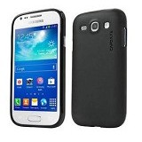 CAPDASE Soft Jacket Case Samsung Galaxy Ace 3 [SJSGS7270-P2Y1] - Black - Casing Handphone / Case