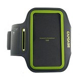 CAPDASE Universal Sport Armband Zonic 126A [AB00P126A-13G6] - Grey/Hijau - Arm Band / Wrist Strap Handphone