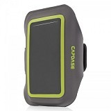CAPDASE Zonic Plus 145A Sports Armband [AB00P145A-13G6] - Grey Green - Arm Band / Wrist Strap Handphone