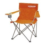 CAPTAIN STAG Folding Lounge Chair - Orange (Merchant) - Outdoor Compact Chair