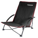 CAPTAIN STAG Folding Low Style Chair - Black (Merchant) - Outdoor Compact Chair