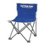 CAPTAIN STAG Folding Mini Chair - Blue (Merchant) - Outdoor Compact Chair