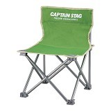CAPTAIN STAG Folding Mini Chair - Green (Merchant) - Outdoor Compact Chair