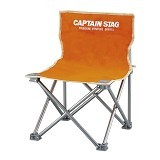 CAPTAIN STAG Folding Mini Chair - Orange (Merchant) - Outdoor Compact Chair