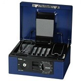CARL Cash Box [CB-8660] - Blue - Cash Box