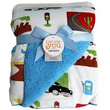BABY WAREHOUSE Carter Baby Blanket - Blue