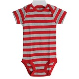 BABY WAREHOUSE Carter Baby Jumper Stripes 12 month - Red Gray - Jumper Bepergian/Pesta Bayi dan Anak