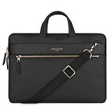 CARTINOE London Style Series Macbook/Laptop Bag 13 Inch - Black - Notebook Shoulder / Sling Bag