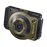 CASIO Exilim FR10 - Green (Merchant) - Camera Pocket / Point and Shot