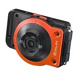CASIO Exilim FR10 - Orange (Merchant) - Camera Pocket / Point and Shot
