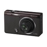 CASIO Exilim ZR50 - Brown (Merchant) - Camera Pocket / Point and Shot