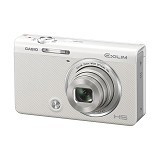 CASIO Exilim ZR50 - White (Merchant) - Camera Pocket / Point and Shot