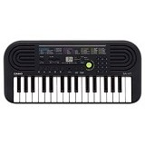 CASIO Keyboard Mini [Sa47] - Grey (Merchant) - Keyboard Arranger