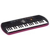 CASIO Keyboard Mini [Sa78] - Pink (Merchant) - Keyboard Arranger