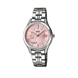CASIO Ladies Analog [LTP-E102D-4AVDF] - Jam Tangan Wanita Fashion