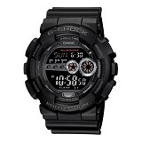 CASIO Sport Watch Original For Men [GD-100-1BDR ] - Black - Jam Tangan Pria Sport