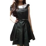 CECECICIKU HOUSE Dress Import Lengan Pendek Size L [CD-343] - Hitam - Mini Dress Wanita