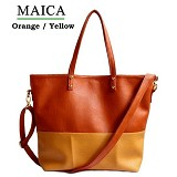CEVIRO Maica - Orange/Yellow - Shoulder Bag Wanita