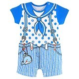 FIRST MOVEMENT Jumper Sailor Boy Size 9-12M - Jumper Bepergian/Pesta Bayi dan Anak