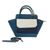 CHARLES & KEITH Top Handle City Bag [2141] - Blue (Merchant) - Car Kit / Charger