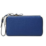 CHARLES & KEITH Wristlet Bow Detail Wallet [1242] - Blue (Merchant) - Clutches & Wristlets Wanita