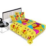 CHELSEA Michiki Selimut Pooh - Yellow - Perlengkapan Tempat Tidur Bayi dan Anak