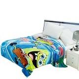 CHELSEA Selimut Anak Spongebob Baru - Blue - Perlengkapan Tempat Tidur Bayi dan Anak