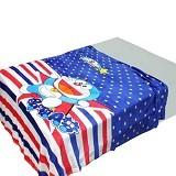CHELSEA Selimut Doraemon USA - Blue - Perlengkapan Tempat Tidur Bayi dan Anak