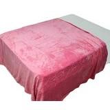 CHELSEA Selimut Polos 180x200cm - Pink - Seprai & Handuk