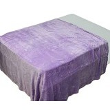 CHELSEA Selimut Polos 180x200cm - Purple - Seprai & Handuk