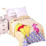 CHELSEA Selimut Pooh Polkadot - Yellow - Perlengkapan Tempat Tidur Bayi dan Anak