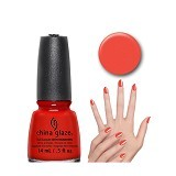 CHINA GLAZE Aztec Orange - Cat Kuku