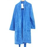 CHLIYA Bathrobe Female - Blue - Seprai & Handuk