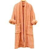 CHLIYA Bathrobe Female - Brown - Seprai & Handuk