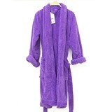 CHLIYA Bathrobe Female - Puple - Seprai & Handuk