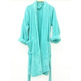 CHLIYA Bathrobe Female - Weathered Blue - Seprai & Handuk