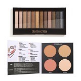 CITY COLOR City Color Contour & Define + Makeup Revolution Iconic Palette 1 (Merchant) - Perona Pipi / Blush On
