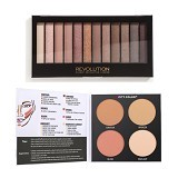 CITY COLOR Contour & Define + Makeup Revolution Iconic Palette 2 (Merchant) - Perona Pipi / Blush On