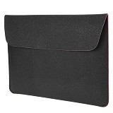 CITY COMP PU Leather Sleeve Case 13.3 Inch - Black (Merchant) - Notebook Sleeve